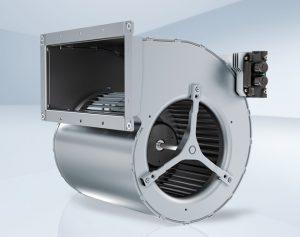 Radialventilatoren mit vorwärts gekrümmten Schaufeln